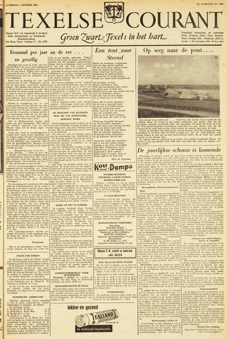 Texelsche Courant 1960-10-01