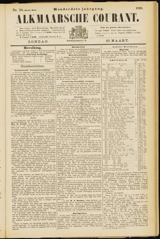 Alkmaarsche Courant 1898-03-20