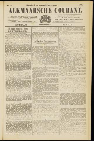 Alkmaarsche Courant 1905-07-30