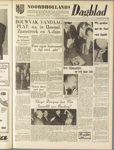 Noordhollands Dagblad : dagblad voor Alkmaar en omgeving 1960-03-07