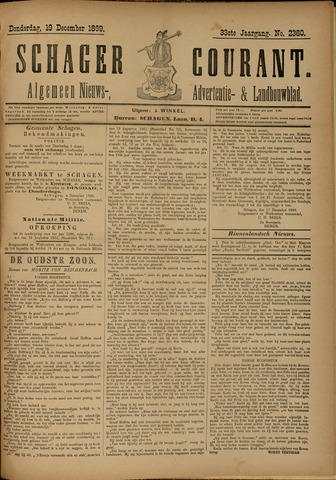 Schager Courant 1889-12-19
