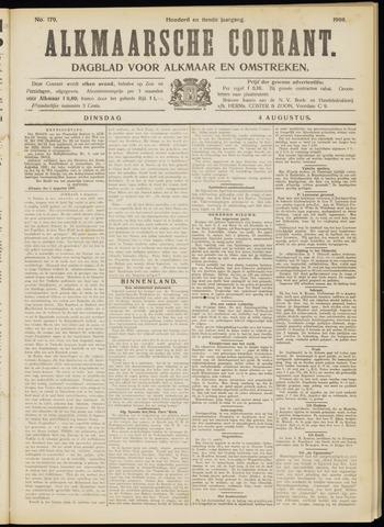 Alkmaarsche Courant 1908-08-04