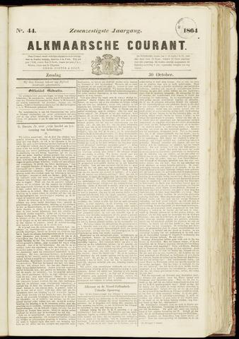 Alkmaarsche Courant 1864-10-30
