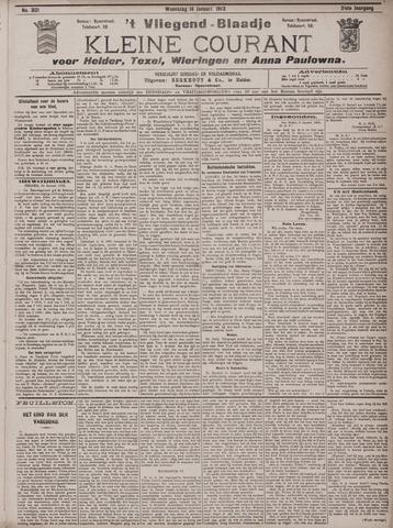 Vliegend blaadje : nieuws- en advertentiebode voor Den Helder 1903-01-14