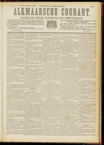 Alkmaarsche Courant 1919-07-22
