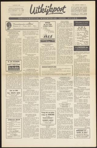 Uitkijkpost : nieuwsblad voor Heiloo e.o. 1968-08-01