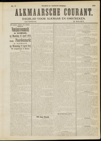 Alkmaarsche Courant 1912-03-23