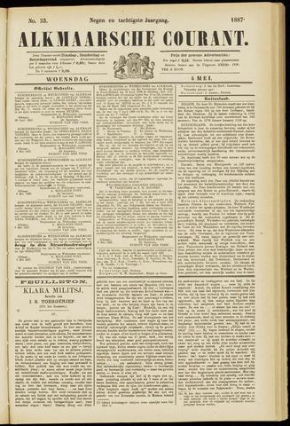 Alkmaarsche Courant 1887-05-04