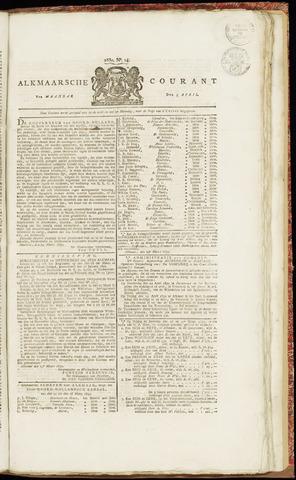 Alkmaarsche Courant 1830-04-05