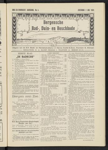 Bergensche bad-, duin- en boschbode 1932-07-02
