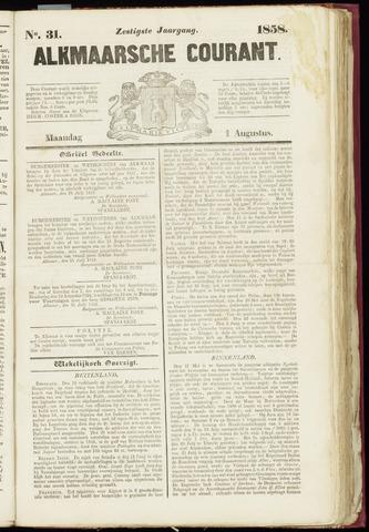 Alkmaarsche Courant 1858-08-02