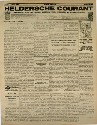 Heldersche Courant 1932-05-14