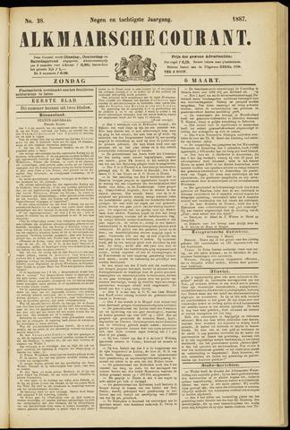 Alkmaarsche Courant 1887-03-06