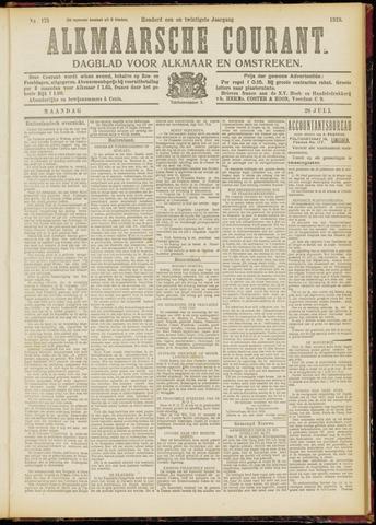Alkmaarsche Courant 1919-07-28