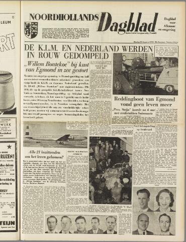 Noordhollands Dagblad : dagblad voor Alkmaar en omgeving 1954-08-24