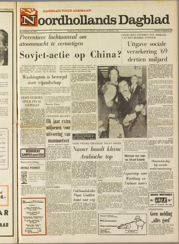 Noordhollands Dagblad : dagblad voor Alkmaar en omgeving 1969-08-29