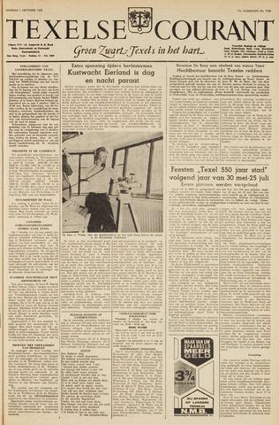 Texelsche Courant 1963-10-01
