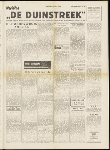 De Duinstreek 1956-11-16