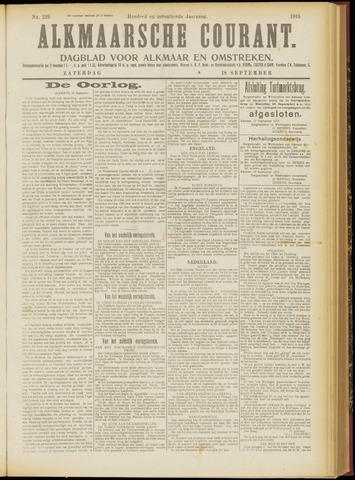 Alkmaarsche Courant 1915-09-18