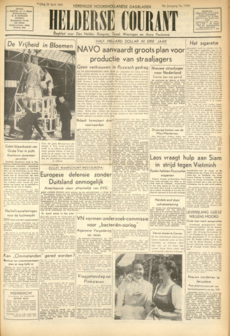 Heldersche Courant 1953-04-24