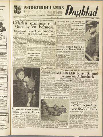 Noordhollands Dagblad : dagblad voor Alkmaar en omgeving 1958-09-08