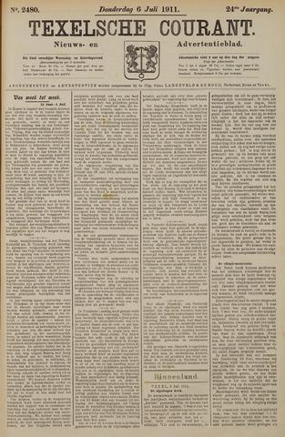 Texelsche Courant 1911-07-06