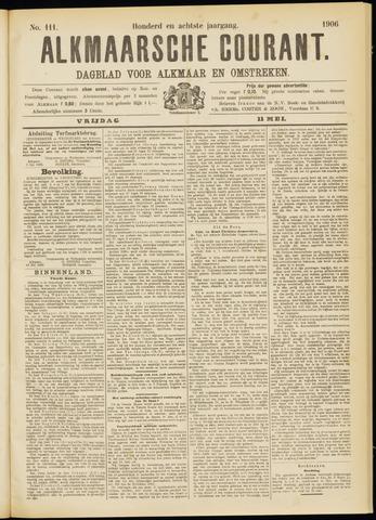 Alkmaarsche Courant 1906-05-11