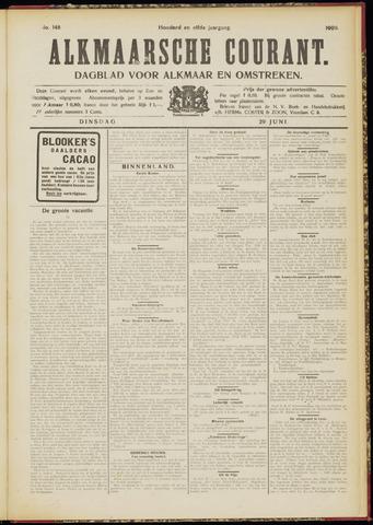 Alkmaarsche Courant 1909-06-29