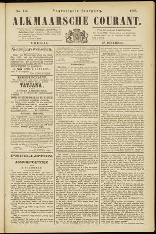 Alkmaarsche Courant 1888-12-28