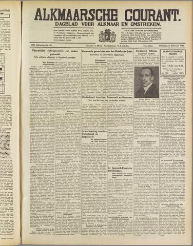 Alkmaarsche Courant 1941-02-17