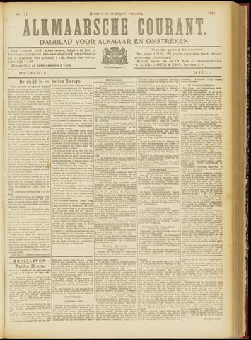 Alkmaarsche Courant 1918-07-24