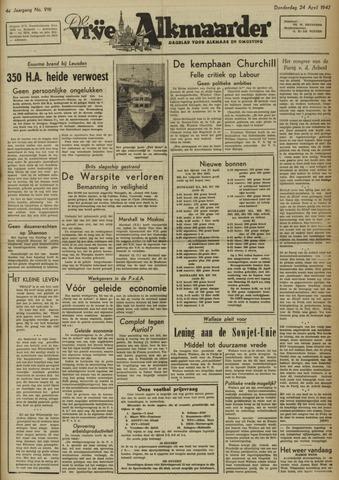 De Vrije Alkmaarder 1947-04-24