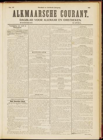 Alkmaarsche Courant 1911-04-12