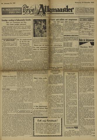 De Vrije Alkmaarder 1947-12-24