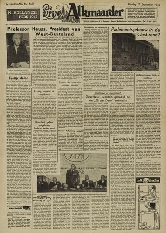 De Vrije Alkmaarder 1949-09-13