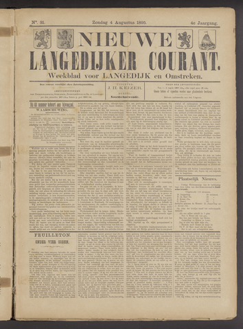 Nieuwe Langedijker Courant 1895-08-04