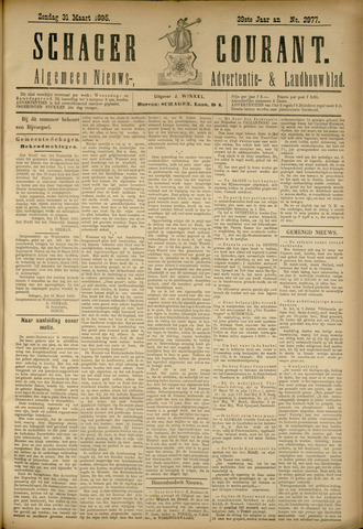 Schager Courant 1895-03-31