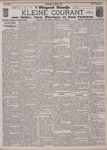 Vliegend blaadje : nieuws- en advertentiebode voor Den Helder 1912-03-13