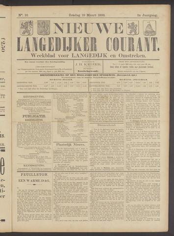 Nieuwe Langedijker Courant 1893-03-19