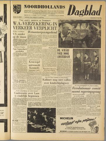 Noordhollands Dagblad : dagblad voor Alkmaar en omgeving 1961-05-17