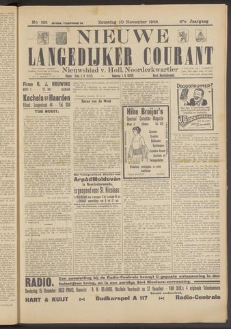 Nieuwe Langedijker Courant 1928-11-10
