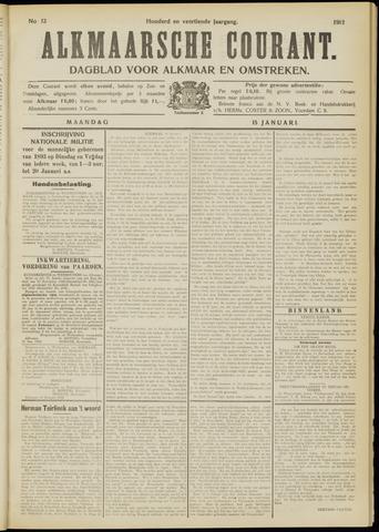Alkmaarsche Courant 1912-01-15