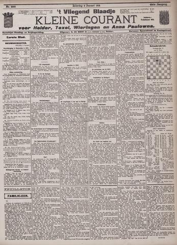 Vliegend blaadje : nieuws- en advertentiebode voor Den Helder 1912-01-06