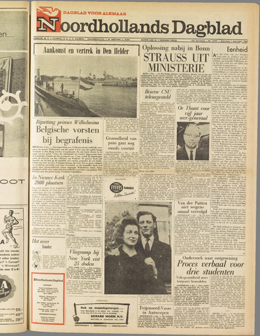 Noordhollands Dagblad : dagblad voor Alkmaar en omgeving 1962-12-01