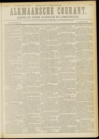 Alkmaarsche Courant 1919-10-02