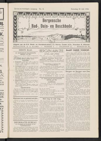 Bergensche bad-, duin- en boschbode 1936-07-25