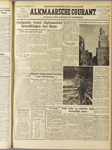 Alkmaarsche Courant 1955-09-10