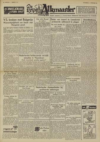 De Vrije Alkmaarder 1950-02-23