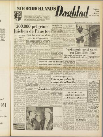 Noordhollands Dagblad : dagblad voor Alkmaar en omgeving 1954-03-20