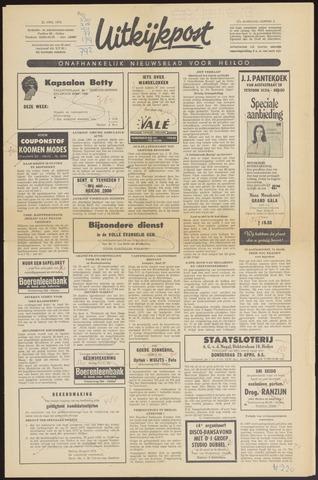 Uitkijkpost : nieuwsblad voor Heiloo e.o. 1970-04-22